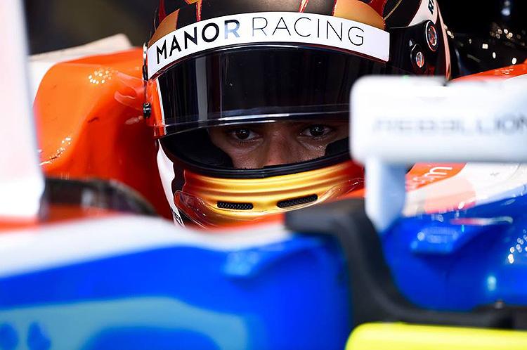 Pascal Wehrlein Cockpit